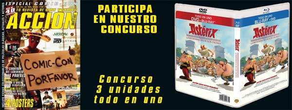 Warner Asterix DVD