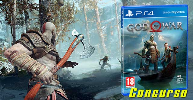 Concurso videojuego GOD OF WAR para PS4