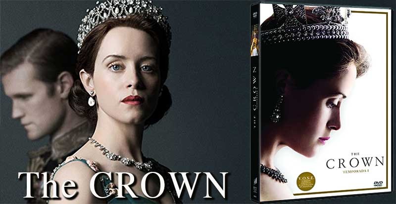 Concurso The Crown temporada 1 en DVD
