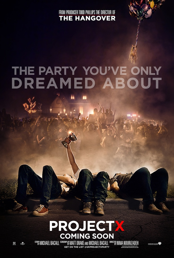 Project X. Trailer y clips