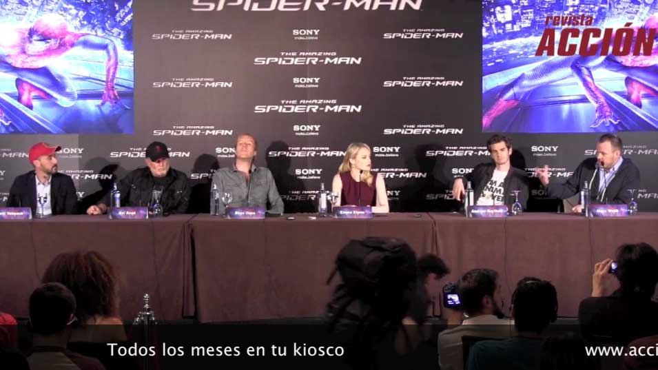 Rueda de prensa The Amazing Spiderman