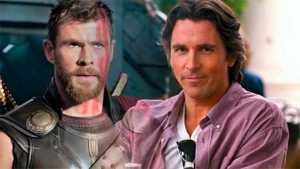 Christian Bale y Chris Hemsworth