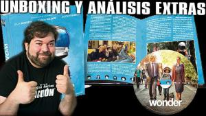 Wonder Blu-Ray Digibook Unboxing y análisis extras