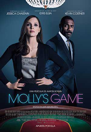 Molly's Game ★★★★