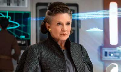 Carrie Fisher estará en el Episodio IX, con la confirmación del reparto.