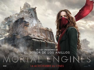 Concurso: MORTAL ENGINES te invita a ver la película en cines