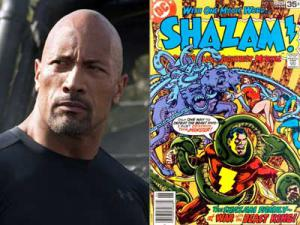 Dwayne Johnson será Shazam