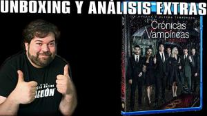 Cronicas Vampíricas T8 Blu-Ray Unboxing y análisis extras