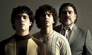 Primera imagen de Maradona, la serie de Amazon Prime Video
