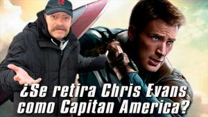 [Video] ¿Se retira Chris Evans como Capitán America?