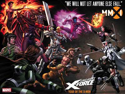 El spin off de X-Men, X-Force, sigue en marcha.